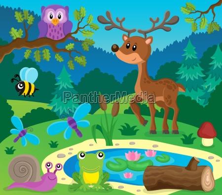 zwierzeta lesne obrazek 9