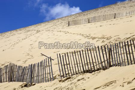 francja przygoda wydma krajobrazowym piaski piaskowa