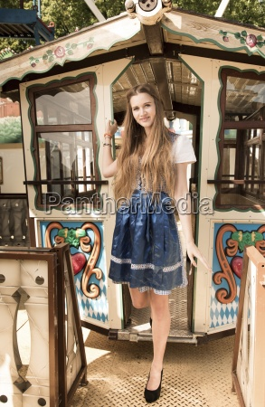germany bavaria munich teenage girl on