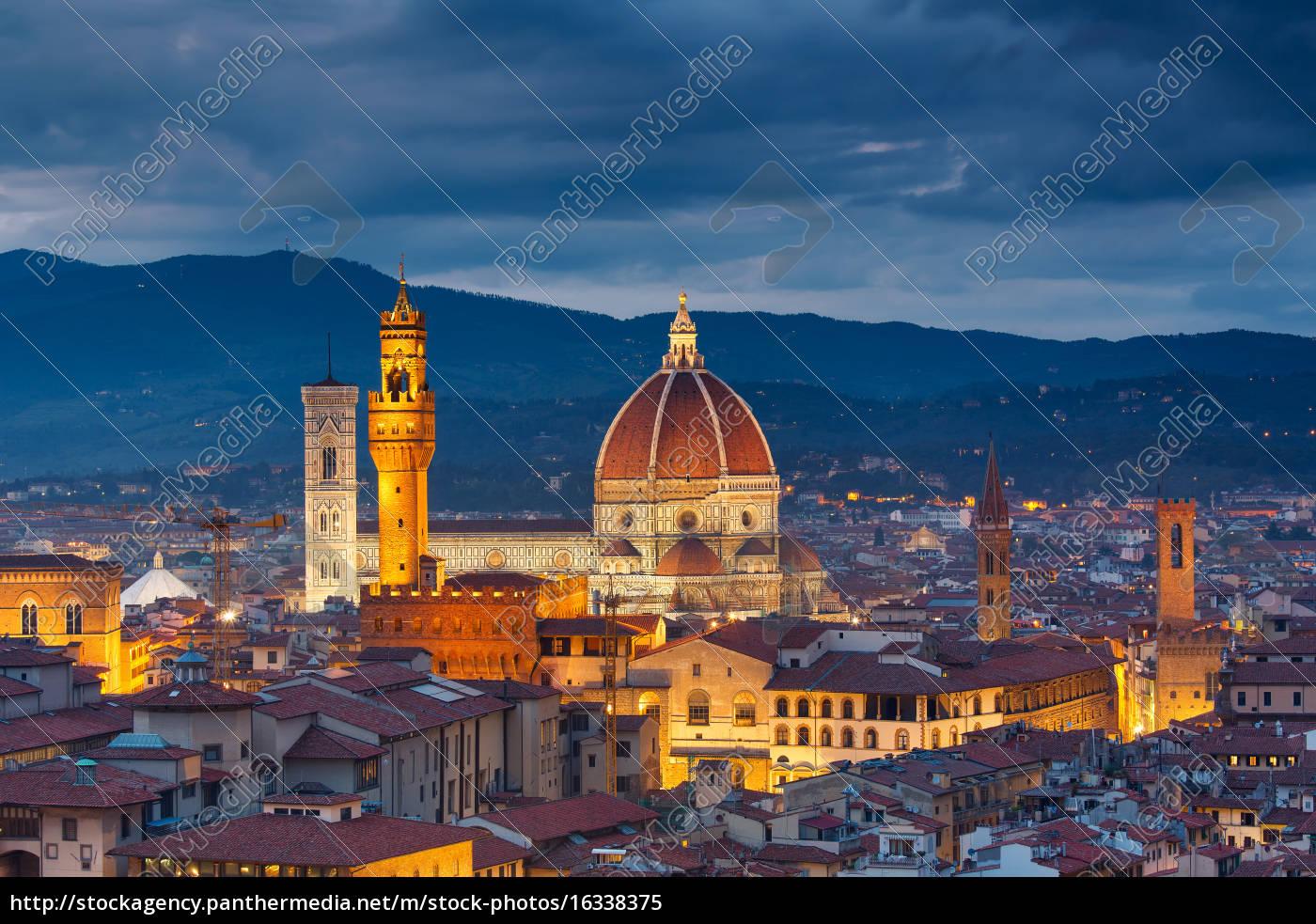 katedra, duomo, we, florencji - 16338375