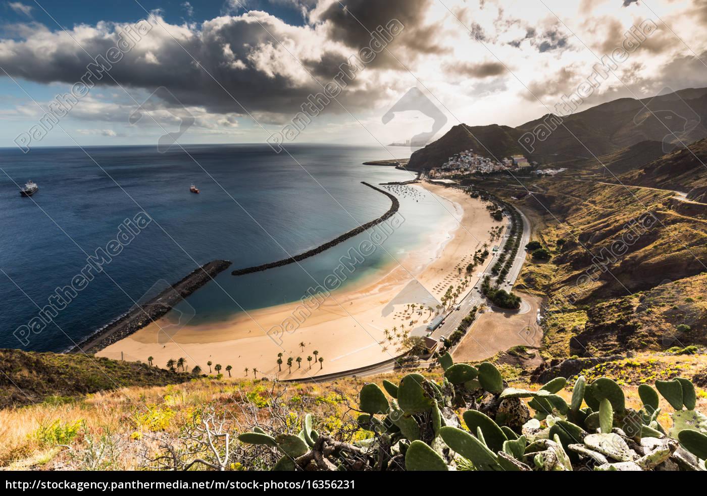 beach, las, teresitas, in, santa, cruz - 16356231