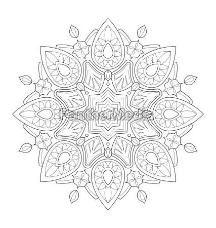 mandala ilustracji