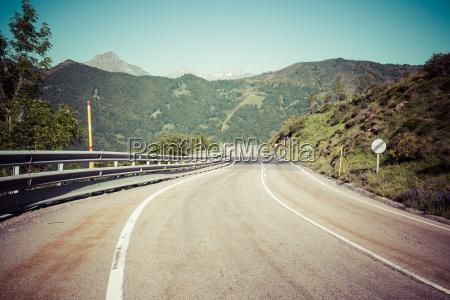 landscape at picos de europa asturias