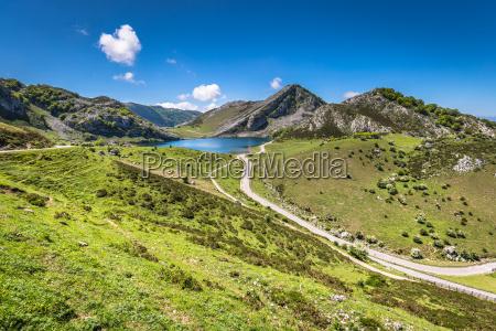 lake enol and mountain retreat the