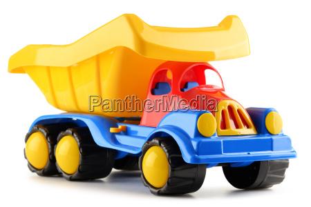 kolorowe ciezarowki plastikowe zabawki samodzielnie na