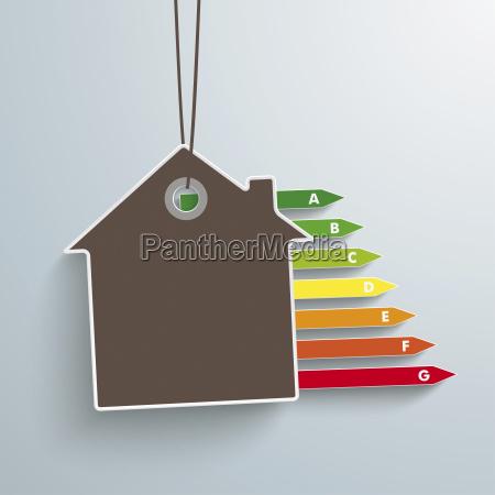 ilustracja wektora bilet house i energii