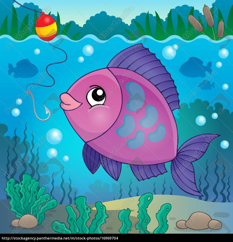 ryby, słodkowodne, temat, obraz, 6 - 16969704