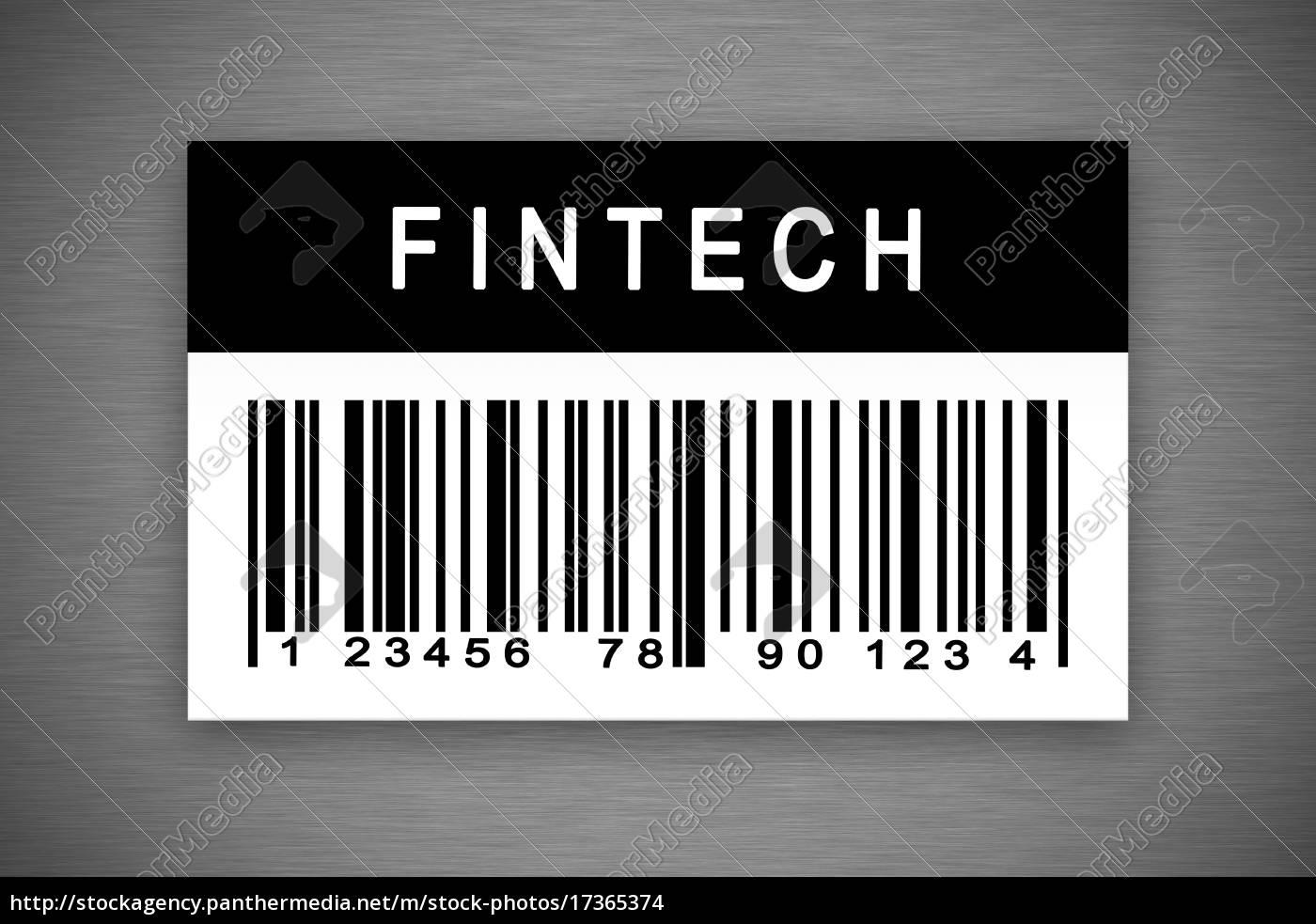 fintech, lub, technologii, finansowej, etykiety, z - 17365374