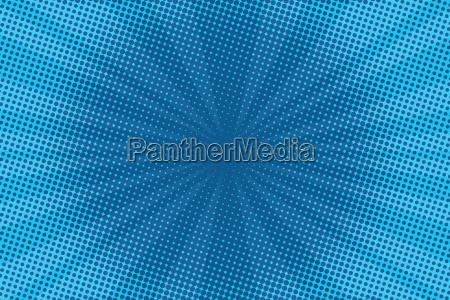 retro komiks niebieskie tlo raster gradientowy