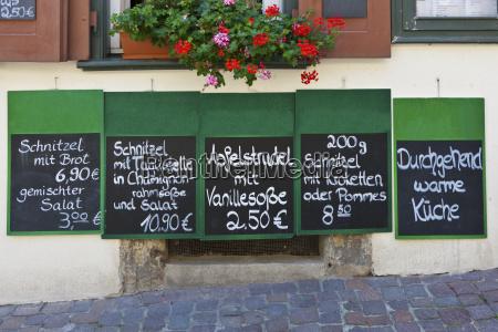 winiarnia w bad wimpfen znaki menu