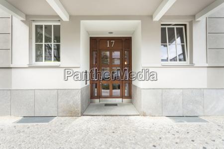 niemcy berlin drzwi wejsciowe z domu