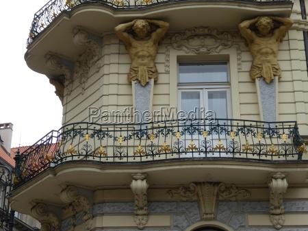 czech republic prague residential buildings in
