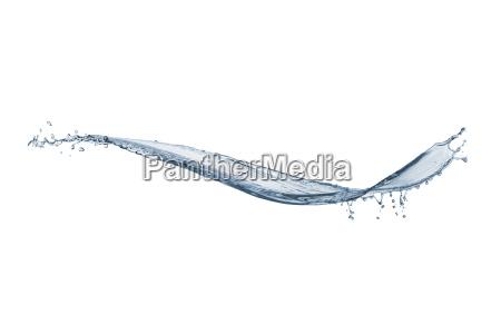 rozpryskiwania wody