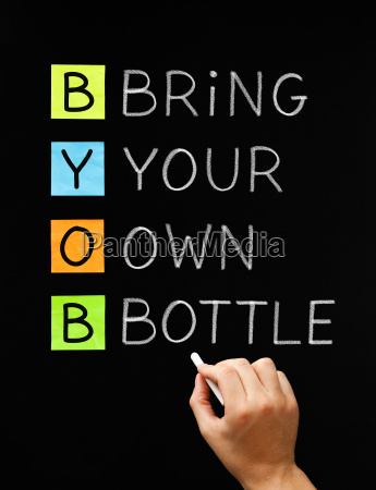 bring your own bottle