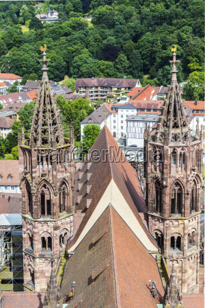 the minster of freiburg germany