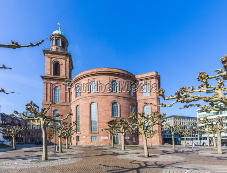 paulskirche famous church in frankfurt
