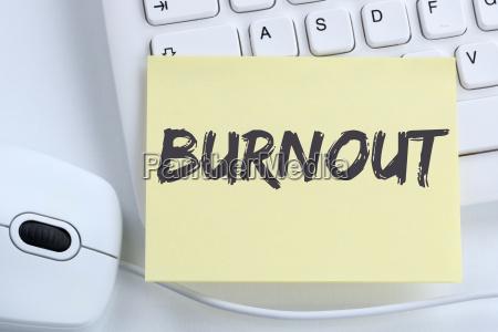 burnout chorych choroby w biurze koncepcji