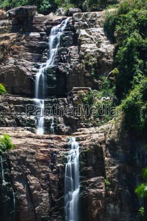 przyroda srodowisko wodospad highland obszar wysokiego
