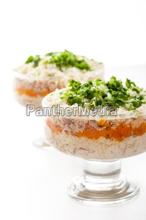ryba warzywo marchewka jajo jajko marchew