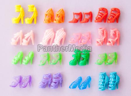 kolorowe kolektora obuwie buciki