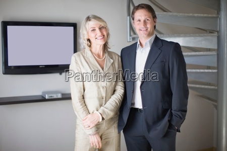business, people, smiling, in, office - 18316562