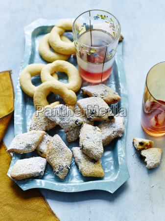 still life niebieski jedzenie wyzywienie zywnosc