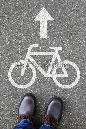 man man rower jazda konna rower