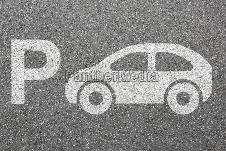 parking samochod parking samochodowy ruch miejski