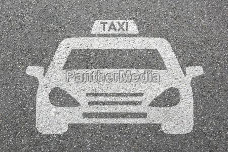 taxi samochod tarcza logo pojazd ruch