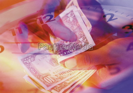 liczenie dolarow