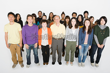 large group of people