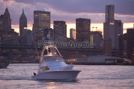boat on east river new york