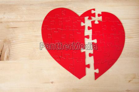 drewno drewna broken walentynka walentynki problem