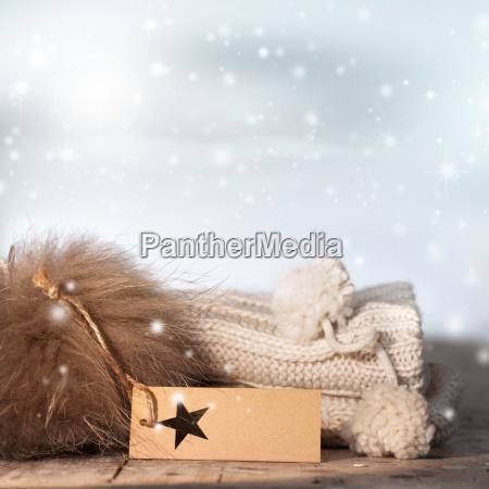 zimowy martwa zywotnosc z cieplem i