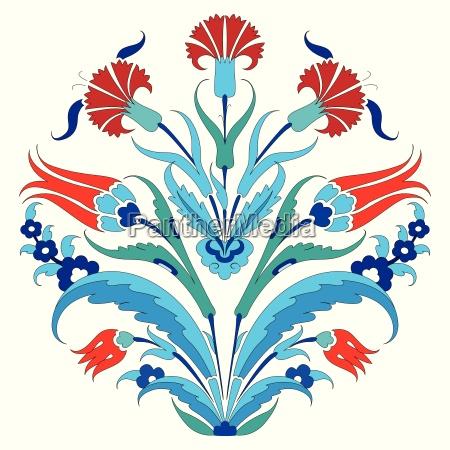 tulipany streszczenie turecki dekoracyjne abstrakcyjne