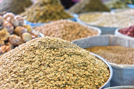 dried food products on the arab