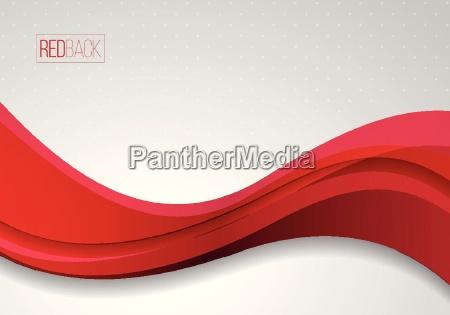 czerwono biale faliste tlo wektorowe abstrakcyjne