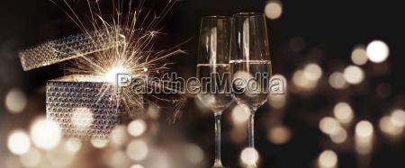 Zyczenia ognistego nowego roku