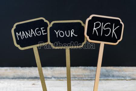 komunikat koncepcja zarzadzac swoimi ryzyko napisane