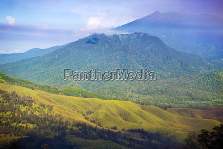 scenic view of mountain landscape in
