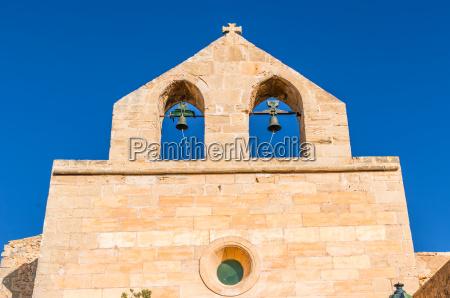 church on the castell de capdepera
