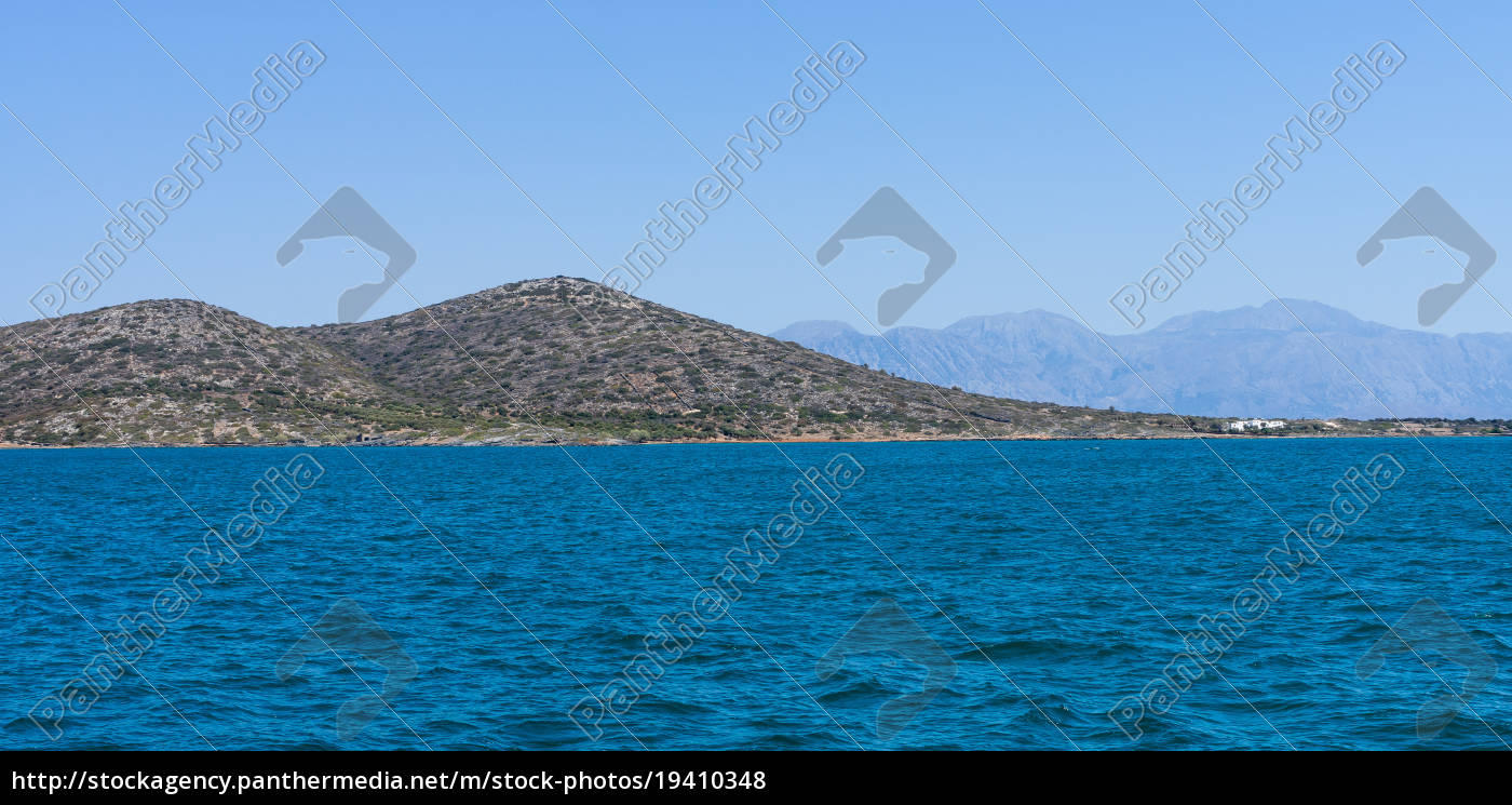 seascape., mediterranean, sea., crete., greece. - 19410348