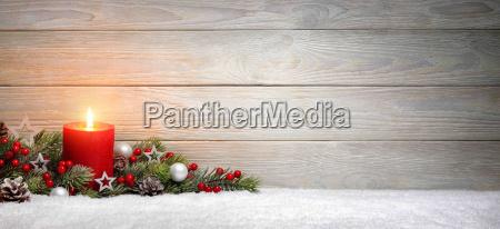 navidad o adviento fondo madera una