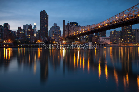queensboro ed koch bridge roosevelt island
