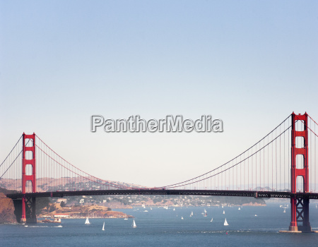 view of golden gate bridge and