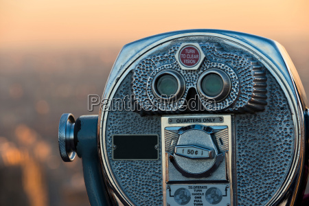 coin operated binoculars manhattan new york