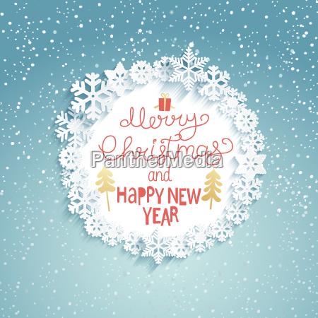 boze narodzenie i nowy rok kartke