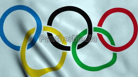 igrzyska olimpijskie flaga macha