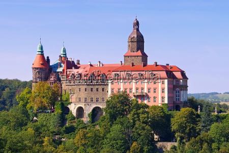 zamek fuerstenstein na Slasku