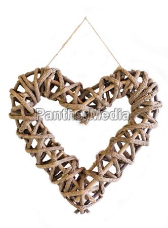 opcjonalne zawiesic pleciony spleciony wieszaki serce